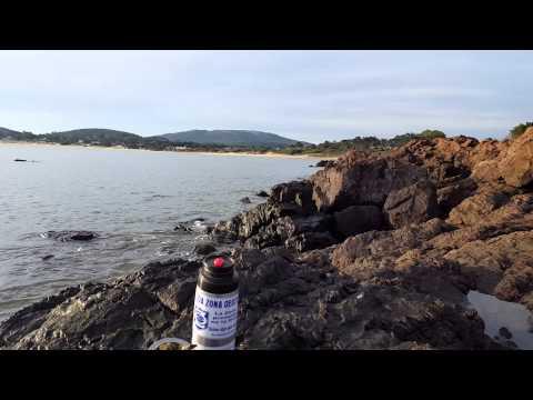 Punta Colorada y mate . Uruguay