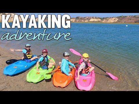 Kids Kayaking Adventure || Mommy Monday