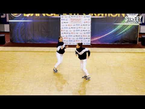 Dance Integration 2019 «Street Competitions» -008-Дроздова Елизавета, Жильцова Наталья - United BIT