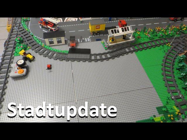 Lego World [23] Verlegung der Grundplatten