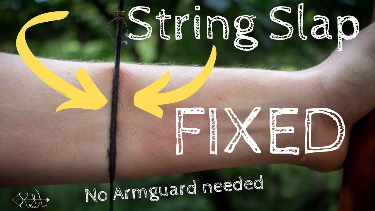 ULTIMATE FIX TO BOWSTRING SLAP