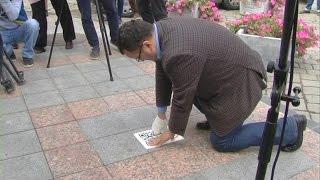 У Чернівцях за допомогою «їжаків» туристи можуть дізнаватися про місто