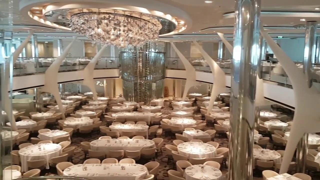 Celebrity Eclipse Moonlight Sonata Restaurant Main Dining Youtube