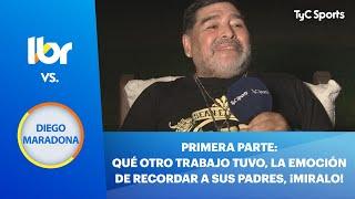 Líbero VS Diego Armando Maradona (PARTE 1)