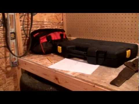 Easy to make strong work table/bench