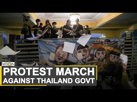 Thailand: Anti-government protesters hold 'Mob fest' | Thailand top news | World News