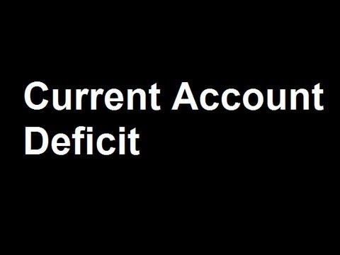 15.Current Account Deficit Good or Bad