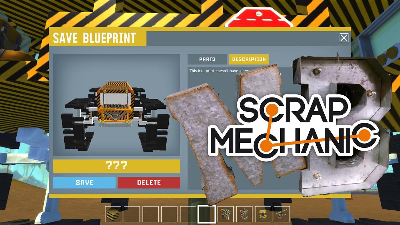 Steam workshop blueprints tutorial pt2 scrap mechanic episode steam workshop blueprints tutorial pt2 scrap mechanic episode 60 youtube malvernweather Images