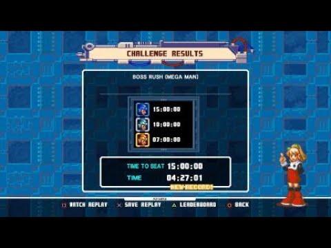 Mega Man Legacy Collection 2 -MM10 Boss Rush (Megaman)- by Azraelka  