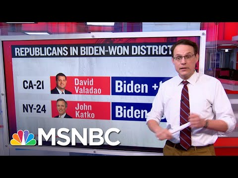 Steve Kornacki Examines Districts Of House Republicans Who Voted To Impeach | Ayman Mohyeldin
