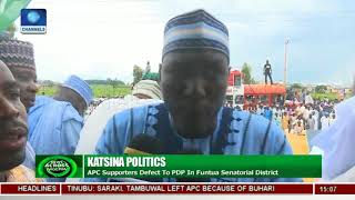 APC Members Defect To PDP In Katsina State