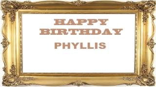 Phyllis   Birthday Postcards & Postales - Happy Birthday