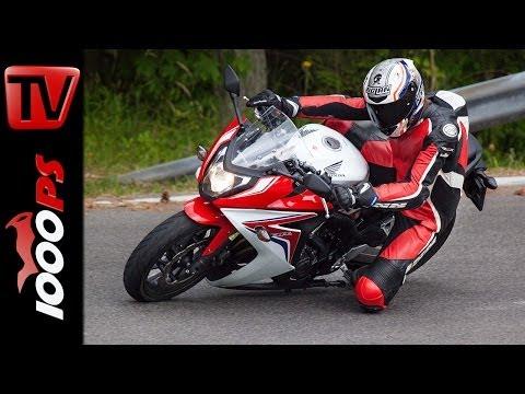 Honda CBR650F Testvideo 2014 | Action, Onboard, Sound mit K.OT