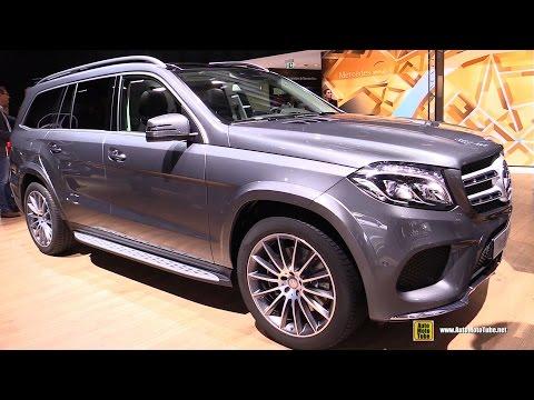 2017 Mercedes GLS350 Diesel 4Matic - Exterior and Interior Walkaround - 2016 Paris Auto Show