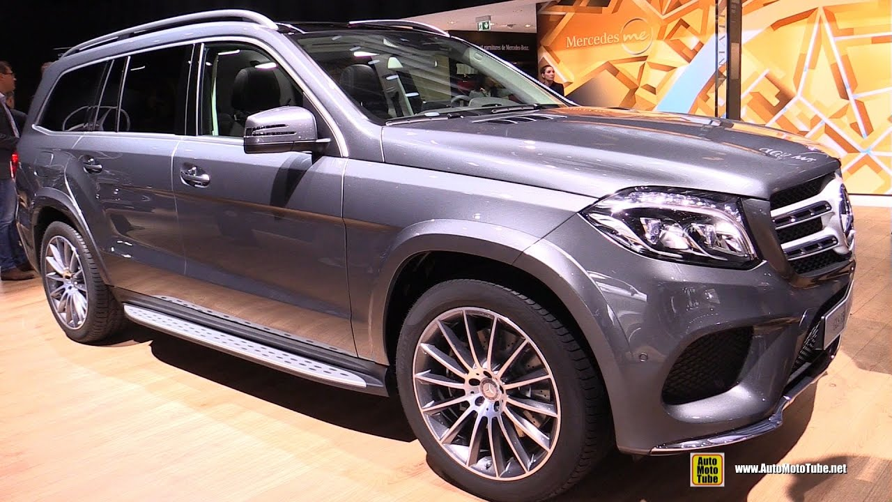 2017 Mercedes Gls350 Sel 4matic Exterior And Interior Walkaround 2016 Paris Auto Show You