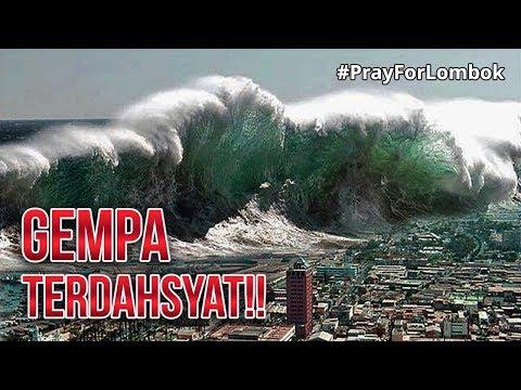 5 GEMPA BUMI TERBESAR YANG PERNAH TERJADI DI INDONESIA! #PrayForLombok