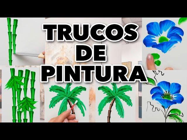 PROBANDO TRUCOS DE PINTURA DE INTERNET. MAIRE VS EL INTERNET