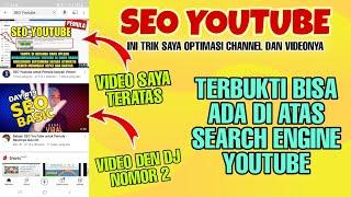 Apa itu SEO Youtube | Berikut Trik dan Rahasianya