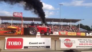 Trailblazer Massey Ferguson 2015 highlights Pro Stock Tractor Pulling