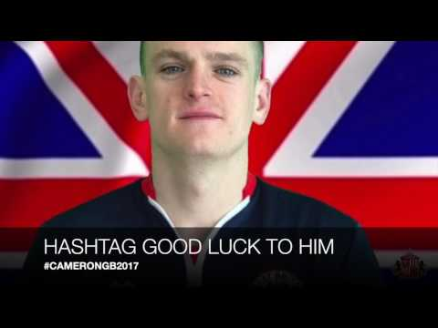SDAFC OFFICIAL CHANNEL: Good Luck Stuart Cameron and Team GB 2017!