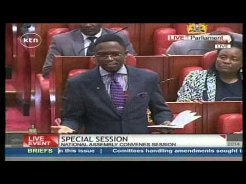 Ababu Namwamba's speech on the floor of the National Assembly special session