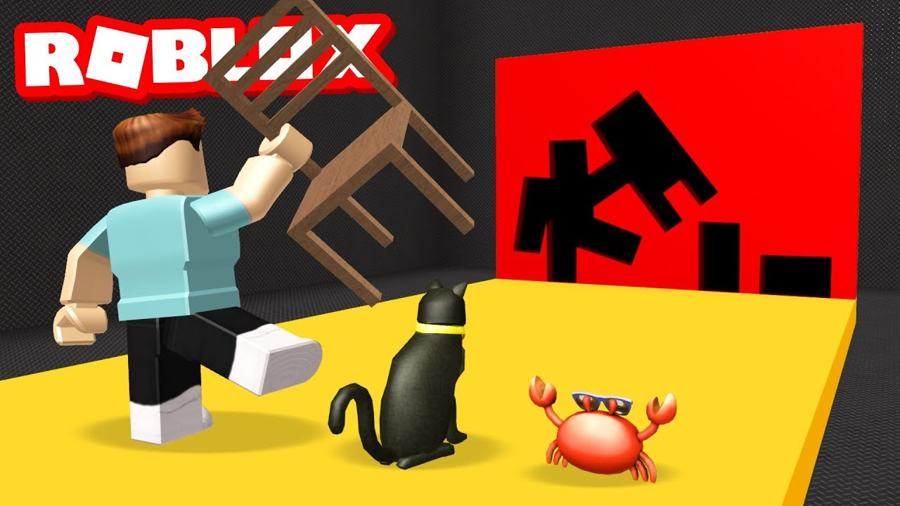 Impossible Hole In The Wall Challenge In Roblox Youtube