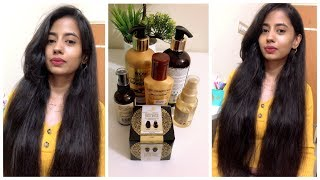 Haircare Routine for Long Silky Shiny Hair
