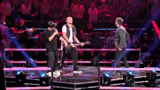 "The Voice of Poland VI - Andrzej Piaseczny vs. Tomson&Baron -  ""Blame it on the Boogie"" - Bitwy"