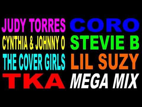 Freestyle Mega Mix - Judy Torres - Cynthia & Johnny O - TKA
