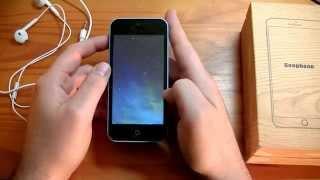 vuclip Goophone i5C - Faux iPhone 5C même pas fini !