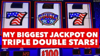 MY BIGGEST HANDYPAY ON TRIPLE STARS/ HIGH LIMIT/ MAX BET JACKPOT