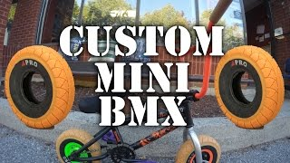 Custom MINI BMX Build @ Harvester Bikes