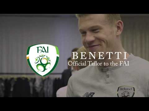 Benetti Menswear the Official Tailor to the FAI | The Official Fitting