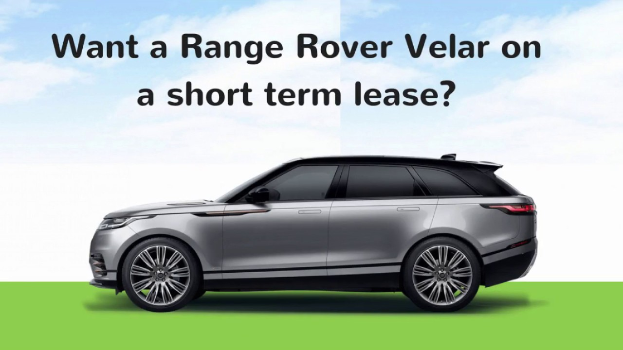 range rover velar lease youtube. Black Bedroom Furniture Sets. Home Design Ideas