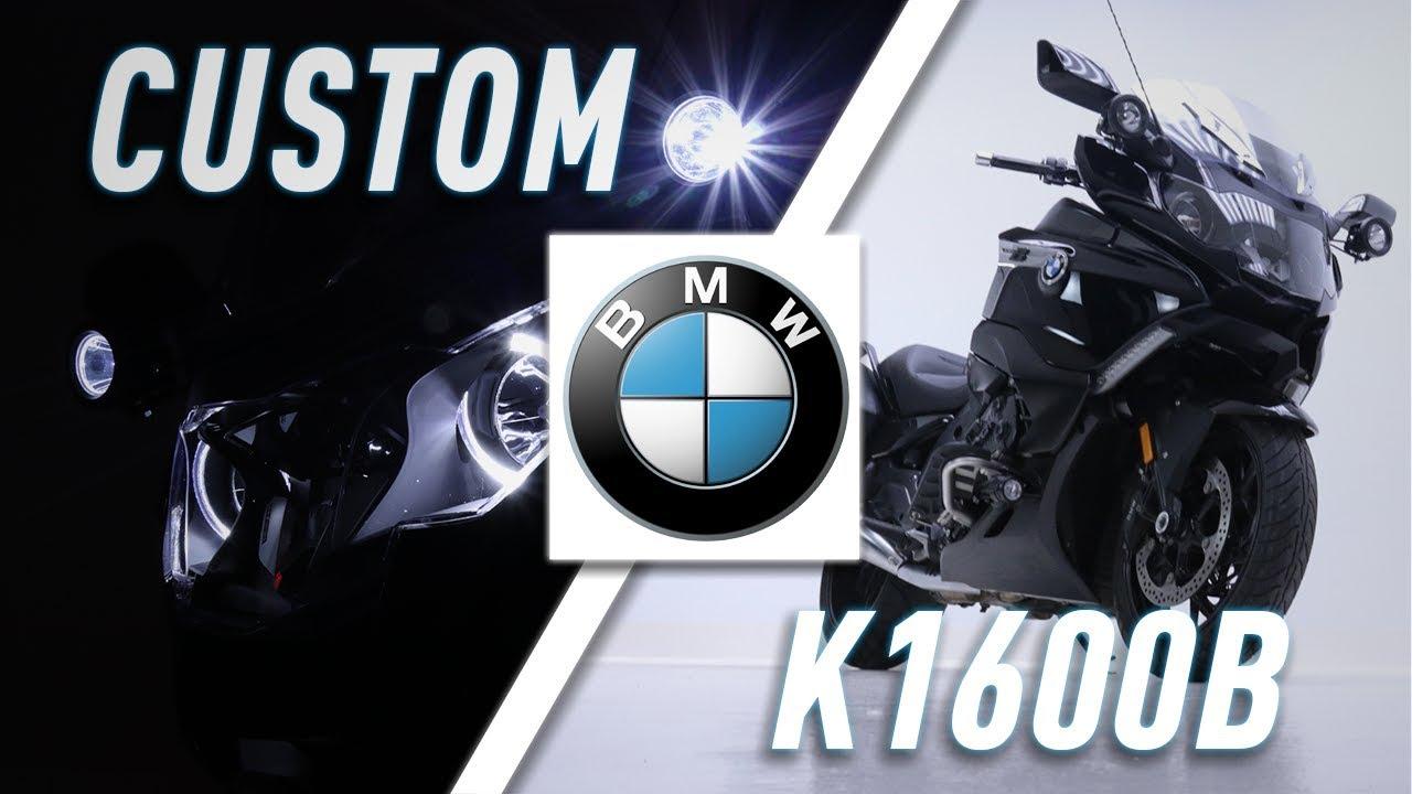NEW 2018 BMW K1600B W/ DENALI DR1 LIGHTS   TwistedThrottle com