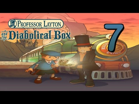 [Professor Layton] Diabolical Box - Chapter 7: Escaping Herz