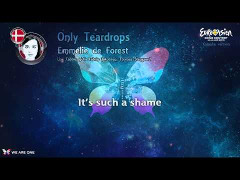 "Emmelie de Forest - ""Only Teardrops"" (Denmark) - Karaoke version"