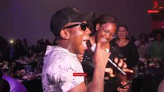 KennyBlaq, Small Doctor, Mayorkun, Toyin Abraham and Others on Stage at Shuga Coated Concert