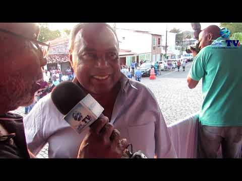 ENTREVISTA COM PREFEITO EVANDRO ALMEIDA.