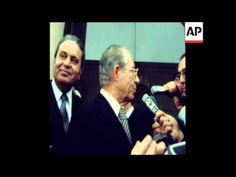SYND 9 1 78 TUNISIAN PRIME MINISTER NOUIRA ARRIVES ELYSEE