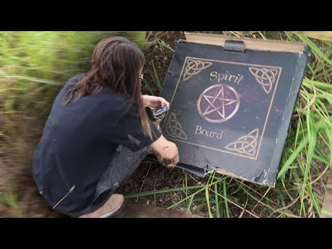 burying our ouija board and saying goodbye to