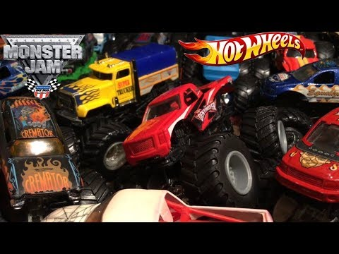 Early 2000's Hot Wheels Monster Jam 7 Truck PURCHASE! (Review)
