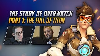 the story of overwatch the fall of titan