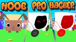 NOOB vs PRO vs HACKER - ROBLOX Pet Simulator