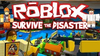 ROBLOX LETS PLAY SURVIVE THE DISASTERS EPISODE 2
