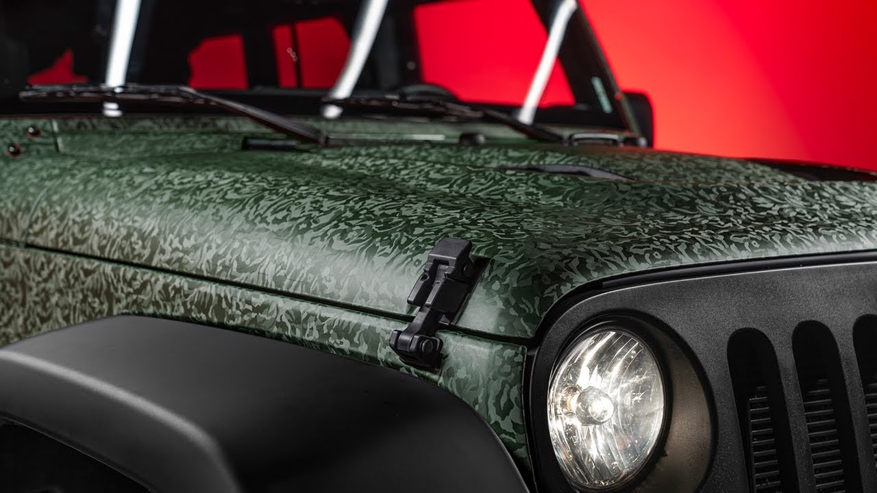 3M™ Wrap Film Series 1080 - Shadow Military Green - Teaser - YouTube