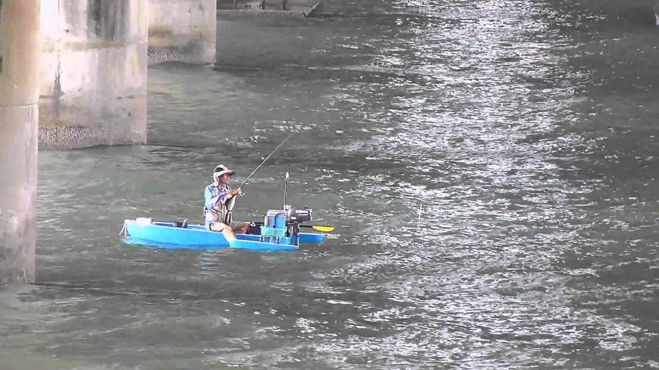 【釣魚浮艇】【釣遊記錄】釣螺打螺船釣黑格 2015年6月21日 - YouTube
