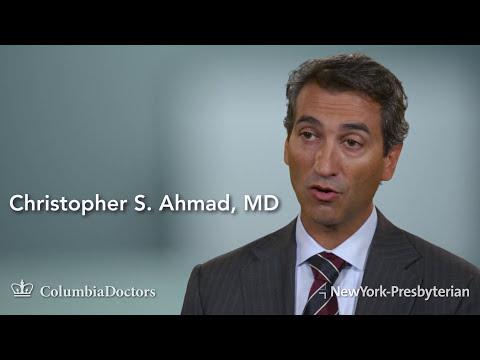 Christopher S. Ahmad, MD - Orthopedic Surgeon