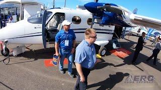 Airborne 10.30.19: 'SpaceSelfie' Balloon, Tecnam Sales, Airport Fire