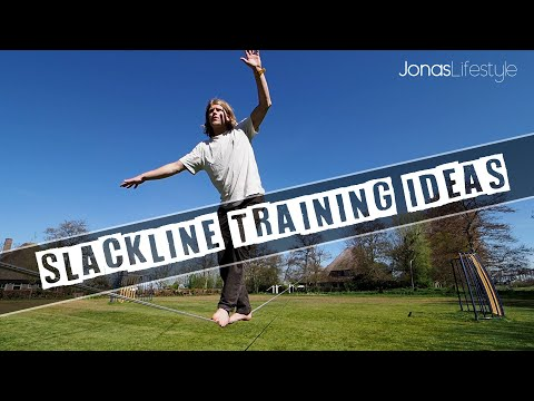Slackline Training Ideas #1